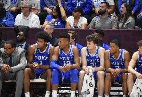 Duke Blue Devils 2019 bench