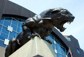 Carolina Panthers sculpture