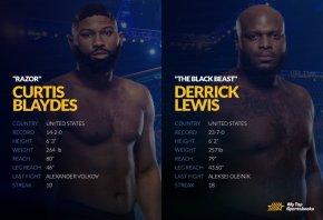 DerrickLewis vs Curtis Blaydes