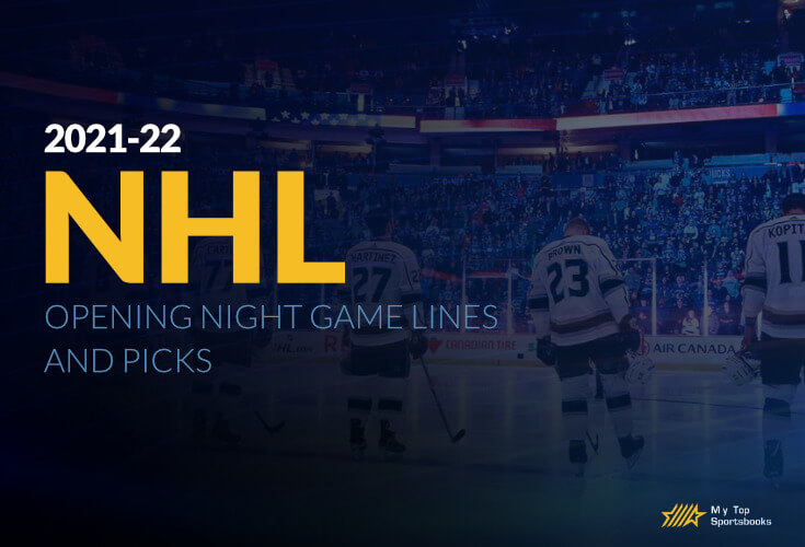 2021-22 NHL Opening Night Game Lines and Picks