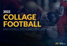 2022 College Football Win Totals, Picks and Predictions