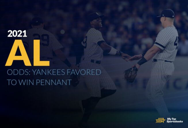 American leauge odds favor yankees to win