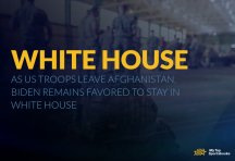 As US Troops Leave Afghanistan, Biden Remains Favored to Stay in White House