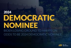 Biden Losing Ground to Harris on Odds to be 2024 Democratic Nominee