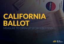 California Ballot Measure to Open up Sports Betting