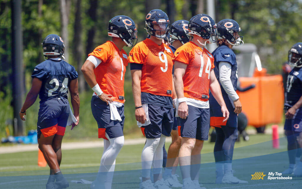 chicago bears training betting odds and picks
