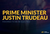 Embattled Canadian Prime Minister Justin Trudeau Favored to be Re-Elected