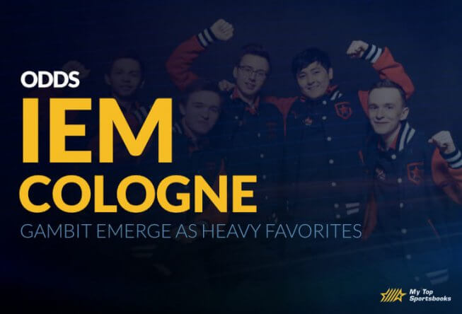 Gambit Emerge as Heavy Favorites on IEM Cologne Odds
