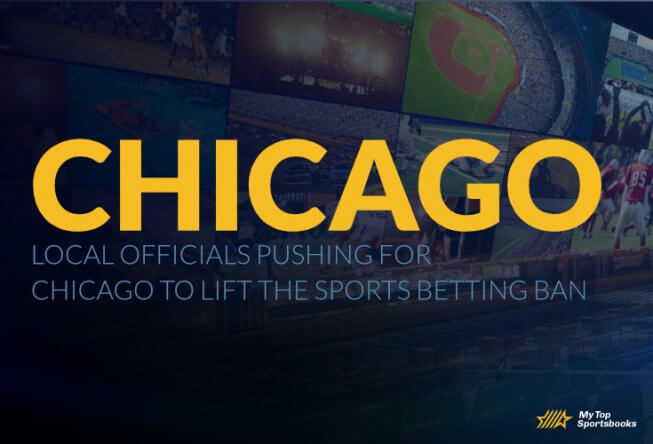 Local officials pushing for Chicago to lift the sports betting ban