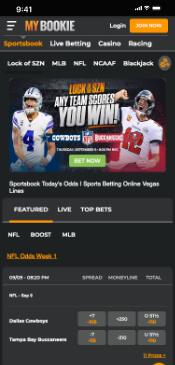 MyBookie Mobile Sportsbook