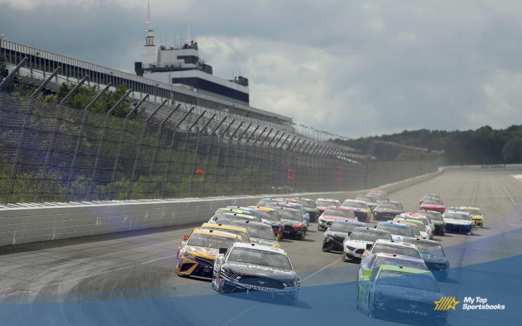 nascar Pocono racetrack