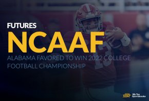 NCAAF Futures: Alabama Favored To Win 2022 College Football Championship