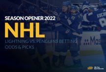 NHL Season Opener 2022: Lightning vs. Penguins Betting Odds & Picks