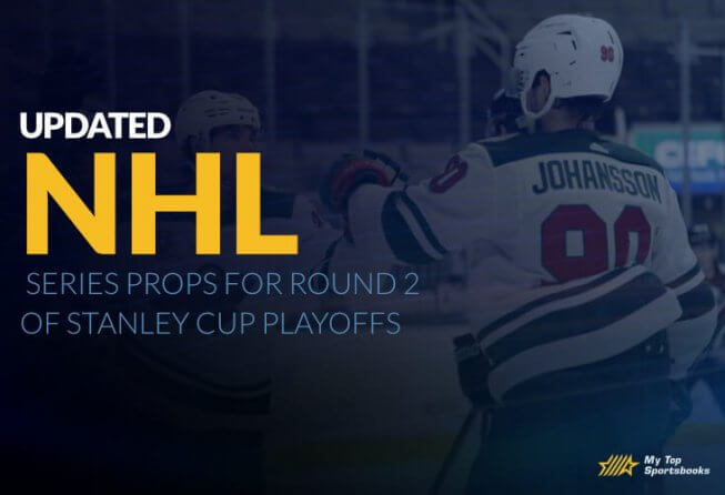 NHL updated series prob round 2 stanley cup
