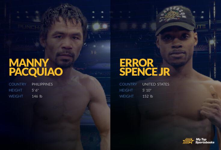 Pacquiao vs Spence Jr betting odds