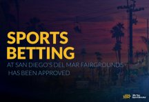 Sports betting at San Diego's Del Mar fairgrounds has been approved