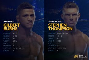 UFC 264: Burns vs. Thompson Betting Odds & Picks