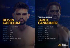 UFC Vegas 34: Cannonier vs. Gastelum Betting Odds & Picks