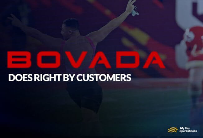 bovada does right customers