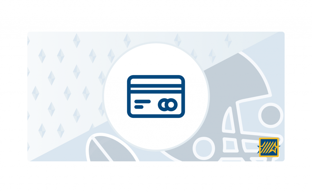 credit card betting illustrations