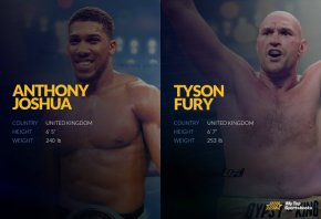 anthony vs tyson betting odds