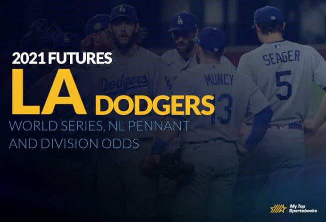 la dodgers future betting odds