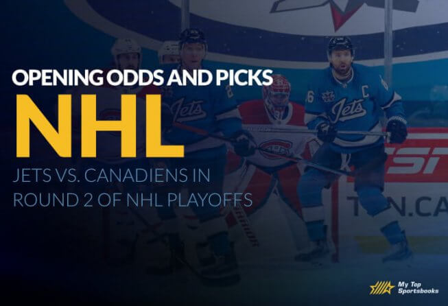 nhl round 2 jets vs canadeans betting odds and picks