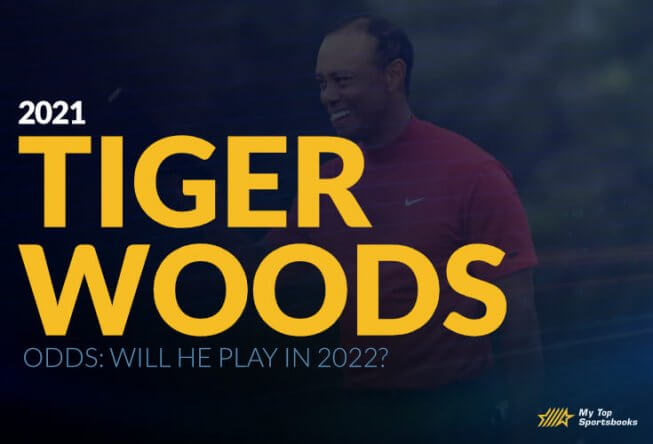tiger woods 2021 betting odds