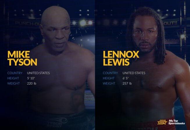 tyson vs lewis boxing betting picks